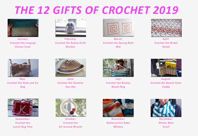 THE 12 GIFTS OF CROCHET